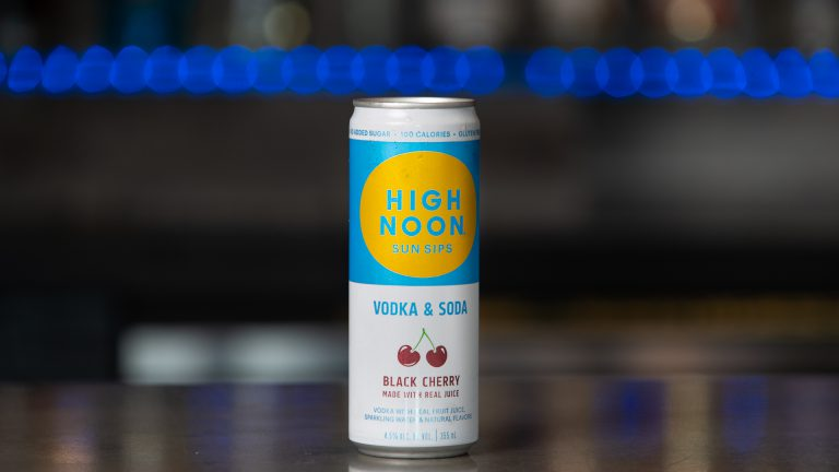 High Noon Vodka Soda Black Cherry